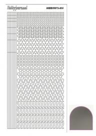 Dots nr. 13 Mirror Silver nr. STDM138