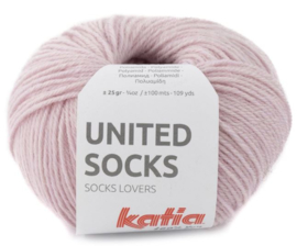United Socks Col. 14 - Bleekrood