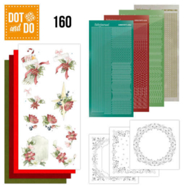 Dot & Do nr. 160 Red Christmas Ornaments