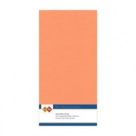 Linnenkarton - Vierkant - Zacht oranje  nr. LKK-4K10