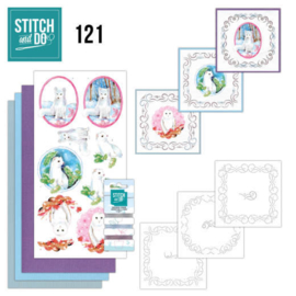 Stitch &  Do nr 121 - Winter Friends