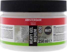 Amsterdam heavy gel medium mat 250 ml  (020)