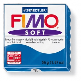 Fimo soft Pacific blauw   nr. 37