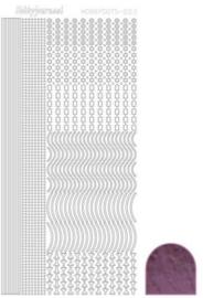 Dots nr. 2 Mirror Violet nr. STDM026
