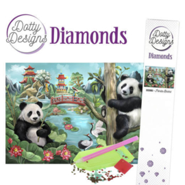 Dotty Designs Diamonds - Panda Bears DDD10002