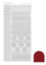 Dots nr. 6 Mirror Red nr. STDM064
