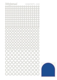 Dots nr. 8 Mirror Blue nr. STDM08A