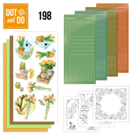 Dot and Do 198 - Jeanine's Art - Welcome Spring DODO198