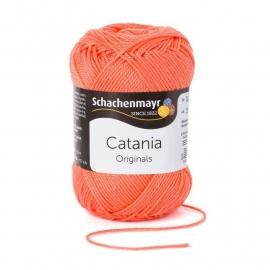 Catania katoen Deep coral 0410