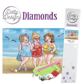 Dotty Designs Diamonds - Bubbly Girls - Beach DDD10008