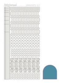 Dots nr. 17 Mirror Turquoise nr. STDM17D