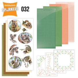 Sparkles Set 32 - Amy Design - Wild Animals - Outback