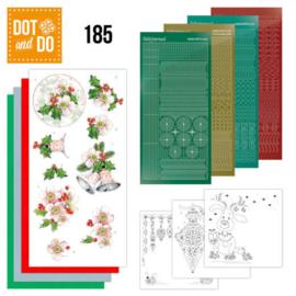Dot & Do nr. 185 Pink Christmas Flowers