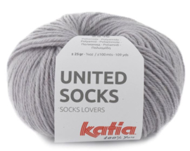 United Socks Col. 8 - Medium grijs