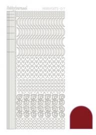 Dots nr. 17 Mirror Red nr. STDM174