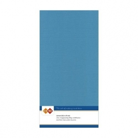 Linnenkarton - Vierkant  - Turquoise nr. LKK-4K40