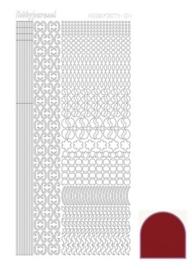 Dots nr. 11 Mirror Red nr. STDM114