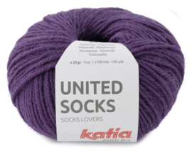 United Socks Col. 13 - Parelmoer-lichtviolet