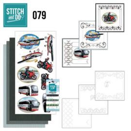 Stitch & Do nr. 79 Daily transport