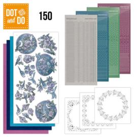 Dot & Do nr. 150 Birds in Purple