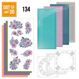 Dot & Do nr. 134 Purple Flowers
