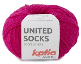 United Socks Col. 15 - Fuchsia