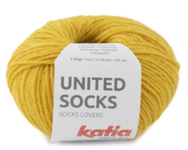 United Socks Col. 19 - Mosterdgeel