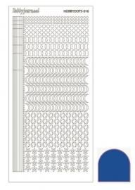 Dots nr. 16 Mirror Blue nr. STDM16A