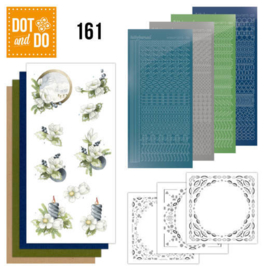 Dot & Do nr. 161 Amaryllis and Blueberries