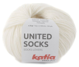 United Socks Col. 6 - Wit
