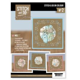Stitch and Do on Colour 002 - Yvonne Creations - Newborn STDOOC10002