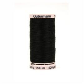 Quilt garen col. 5201 (zwart)