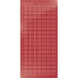 Sticker Mirror Christmas Red nr. HSPM01H