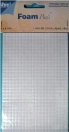 Foam pads 0.5mm dik 5x5mm