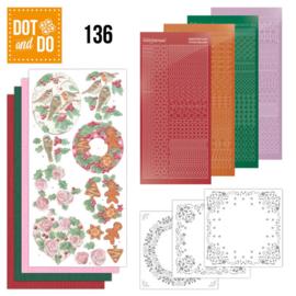 Dot & Do nr. 136 Christmas Florals