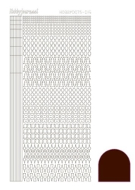 Dots nr. 15 Mirror Brown nr. STDM15G