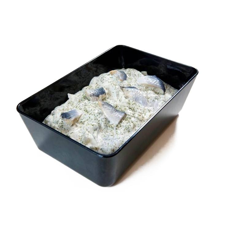 Haring in dillesaus/100 gram