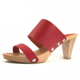 Clogs Doutsen Red