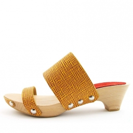 Clogs Nynke Yellow