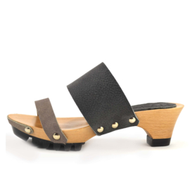 Clogs Welmoed Shark Nero