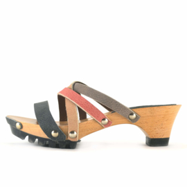 Clogs Trije Nero Terra Rose Shark