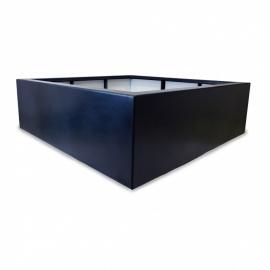 Kunststof plantenbak 'Carré' 160x160x50 cm