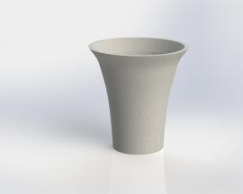UHPC plantenbak 'Anzia' Ø72xH76 cm