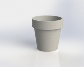UHPC plantenbak 'Imola' Ø66xH64,5 cm