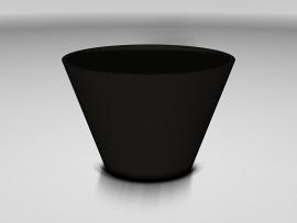 UHPC plantenbak 'Cortona' Ø126,5xH84 cm