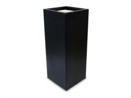 Kunststof plantenbak 'Debout' L40xB40xH100 cm
