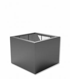 Kunststof plantenbak 'Carré' 100x100x80 cm