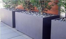 Aluminium plantenbak  'Ancona' 100xB40xH50 cm