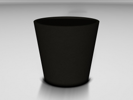 UHPC plantenbak 'Loreto' Ø60xH56 cm