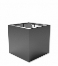 Kunststof plantenbak 'Carré' 100x100x100 cm